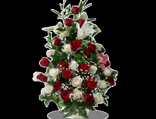 Jual Bunga Mawar Dalam Vas